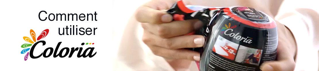 Comment utiliser les Sphères Coloria teinture textile