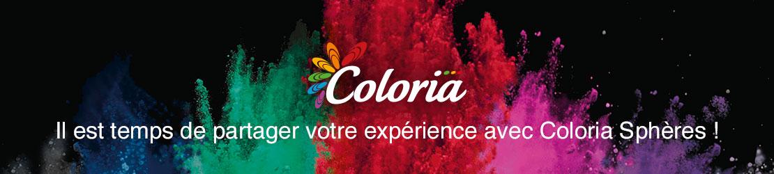 C'est le moment de partager votre avis sur la teinture textile Coloria !